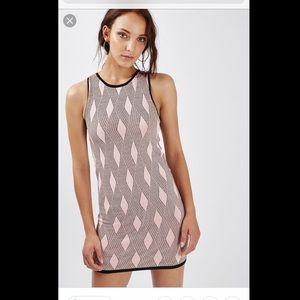 TopShop Geo Jacquard Mini Dress